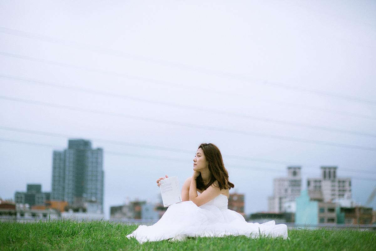 白紗,單人婚紗,雙子小姐