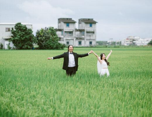 旅拍婚紗,自然風格,雙子小姐