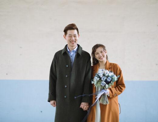 結婚登記攝影,自助婚紗,雙子小姐